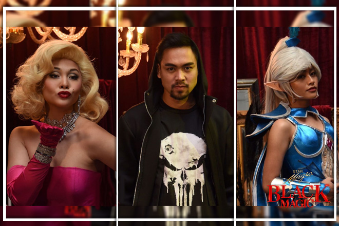 LOOK: The Killer Bride cast members slay their killer Halloween looks on Star Magic Black Magic